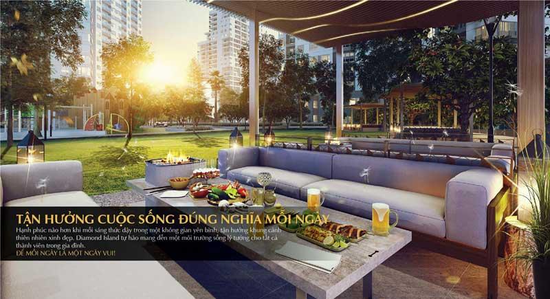 Phong cách thiết kế vượt trội tạo nên một thiên đường sống tại chung cư Đảo Kim Cương (Diamond Island) quận 2