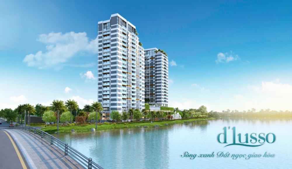 Phối cảnh tổng thể dự án căn hộ D'lusso