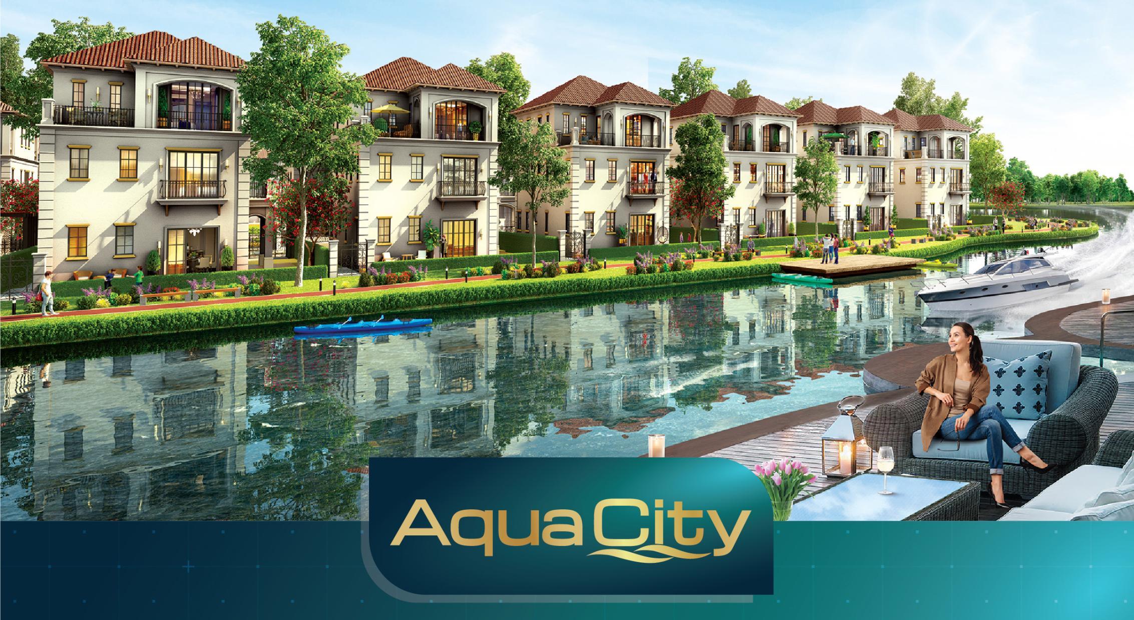 Tiện ích căn hộ hạng sang Aqua City