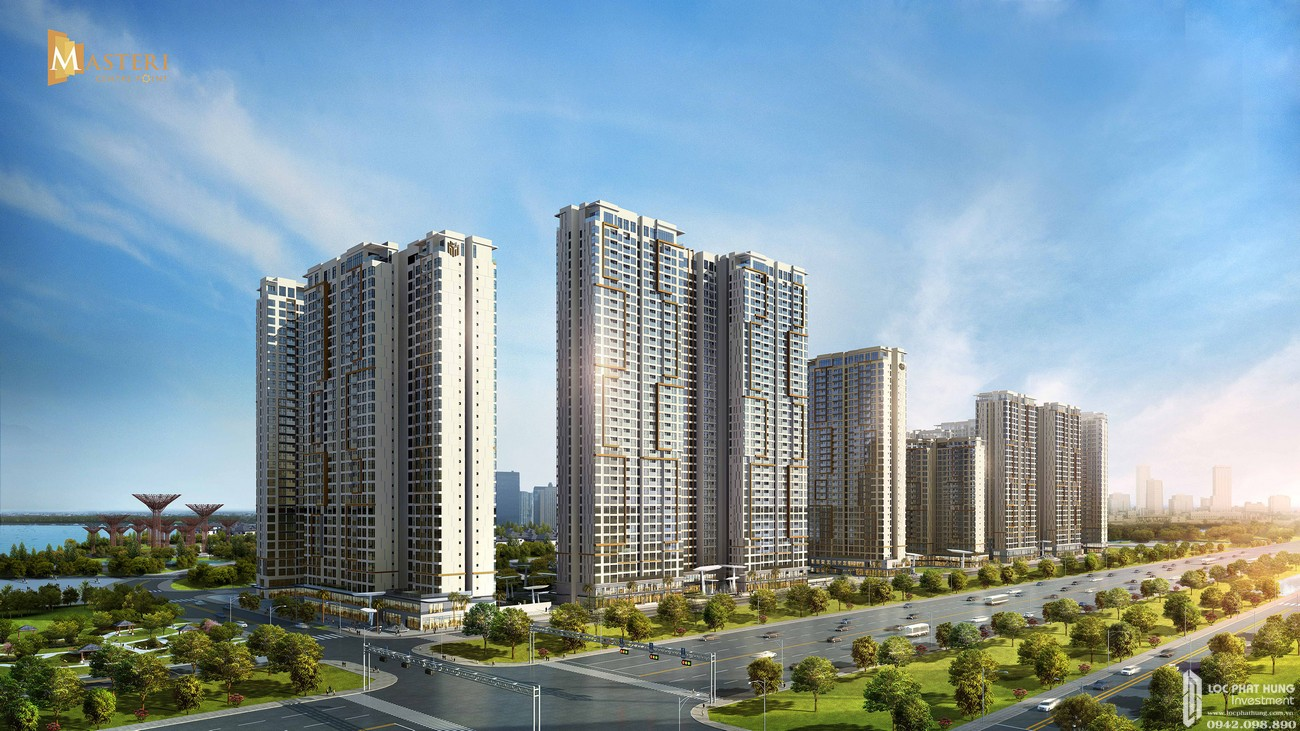 Mặt bằng và thiết kế căn hộ cao cấp Masteri Centre Point