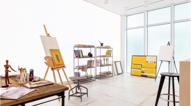 Phòng trưng bày nghệ thuật dành riêng cho cư dân của căn hộ Ritz-Carlton, Miami