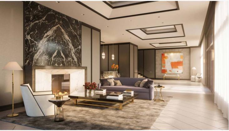 Thiết kế nội thất sang trọng của dự án Four Seasons Private Residences, San Francisco