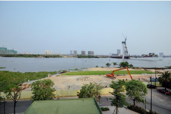 Trong vòng 5 năm tới, khu vực bờ sông quận 1 này sẽ xuất hiện một bến du thuyền, cùng đường đi dọc bờ sông lát gỗ sang trọng.