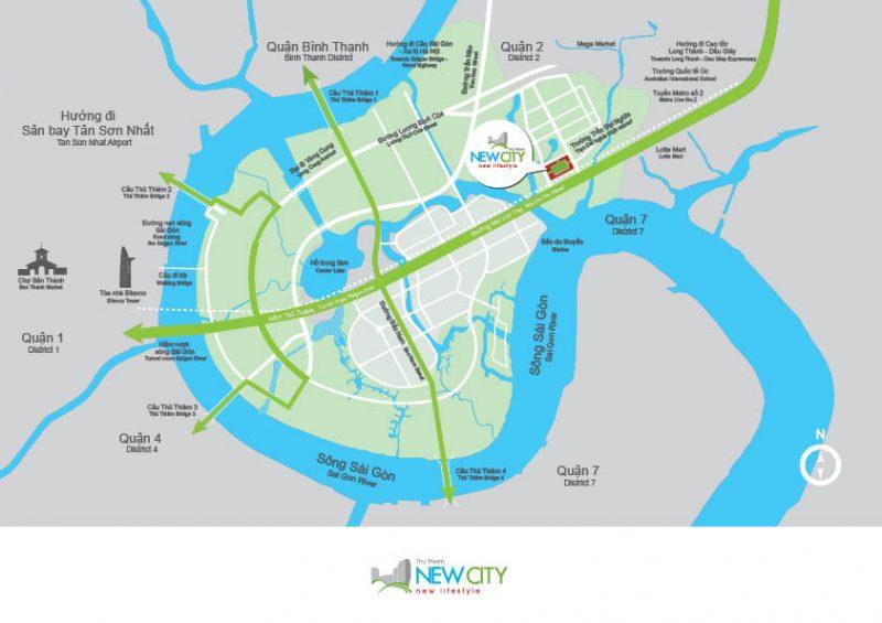 VỊ TRÍ NEW CITY THỦ THIÊM