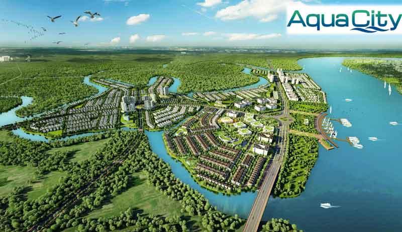 Phối ảnh tổng quan căn hộ hạng sang Aqua City